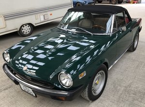 1977 Fiat 124 Sport spider 1800 Pininfarina Azzurra For Sale