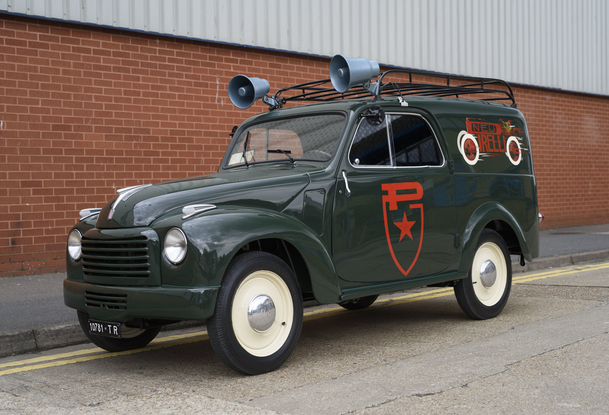 1954 Fiat 500 C Van (LHD) For Sale (picture 1 of 24)