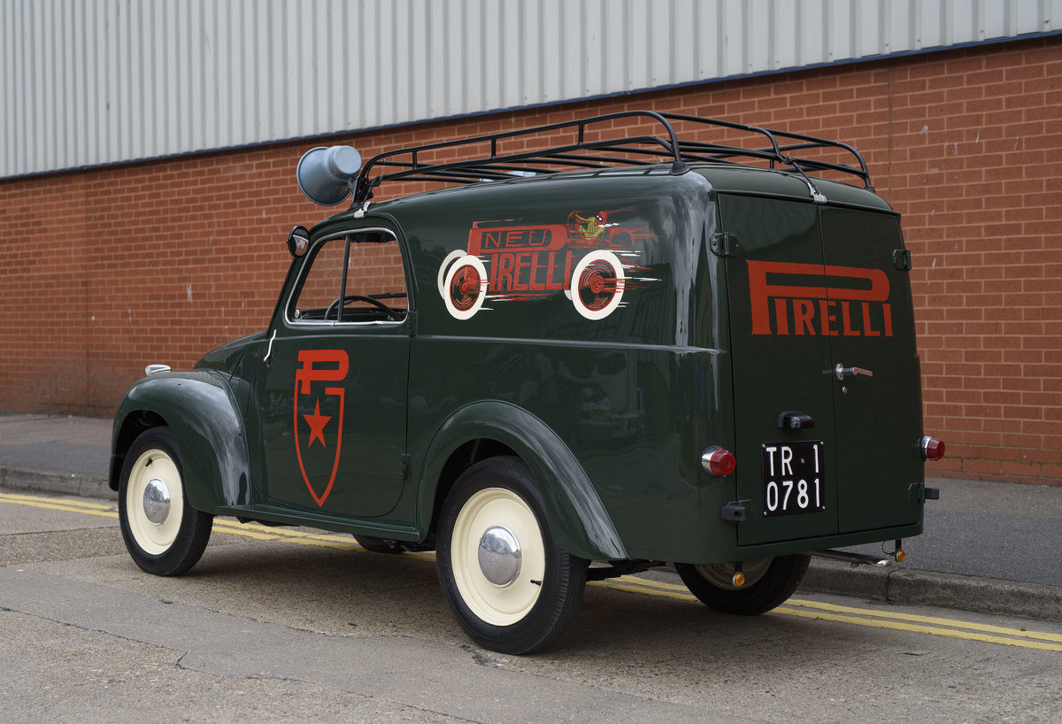 1954 Fiat 500 C Van (LHD) For Sale (picture 4 of 24)