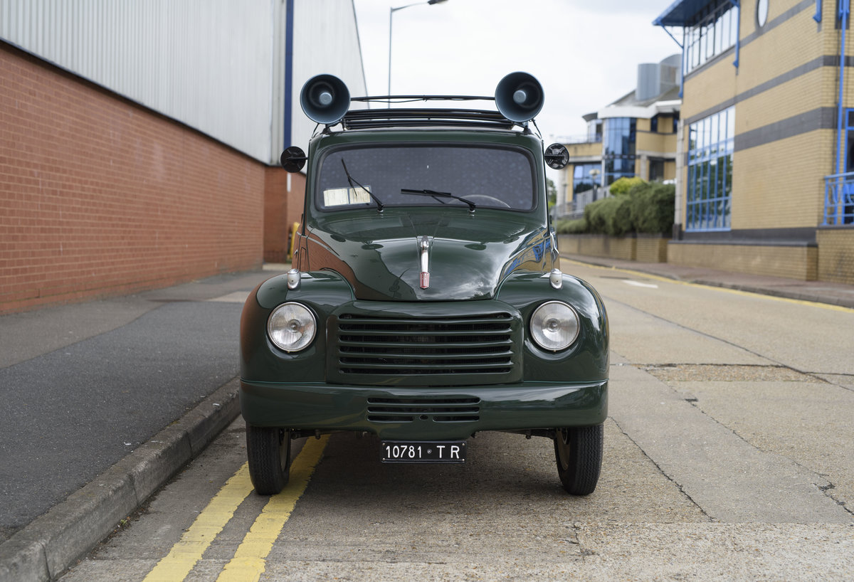 1954 Fiat 500 C Van (LHD) For Sale (picture 7 of 24)