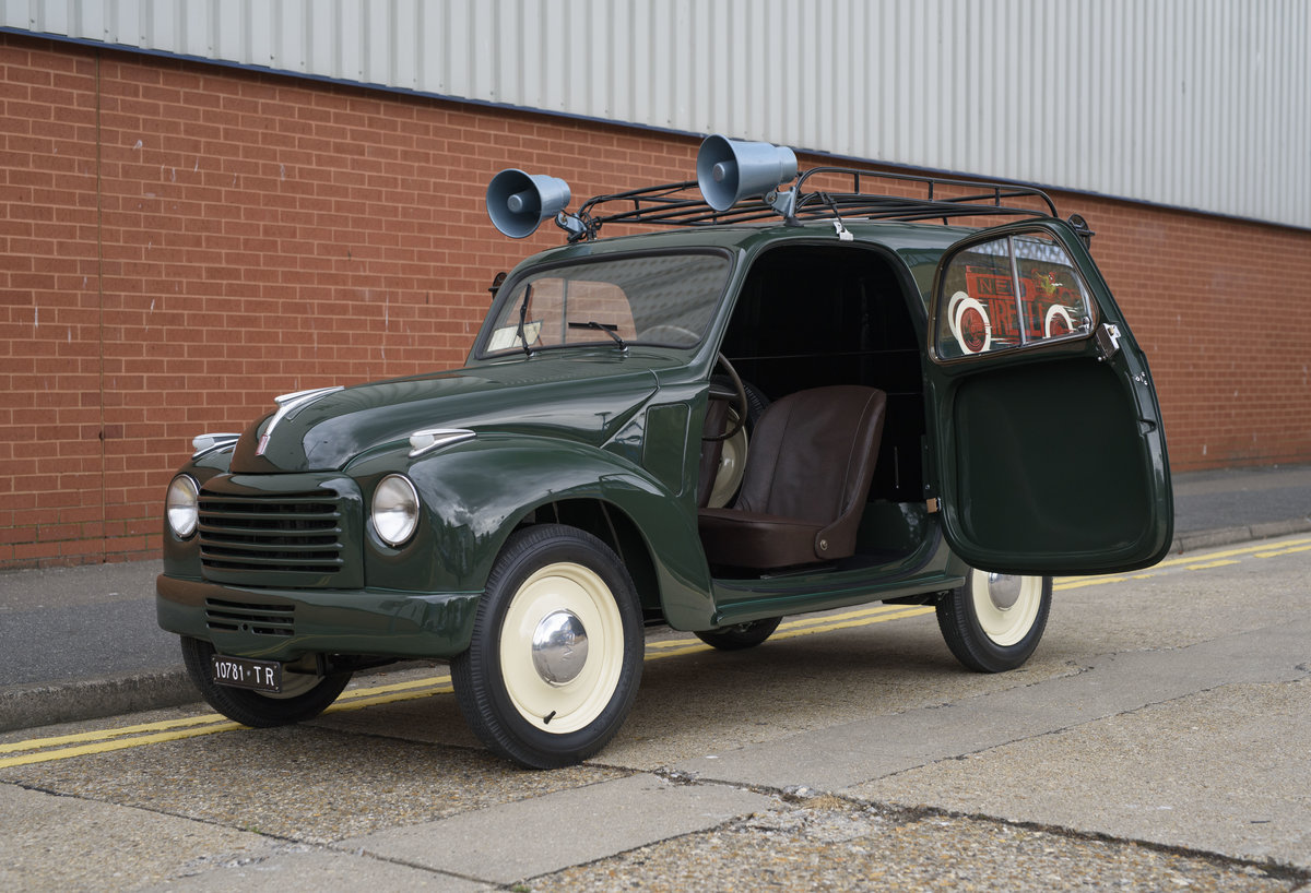 1954 Fiat 500 C Van (LHD) For Sale (picture 15 of 24)