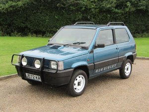 1991  Fiat Panda Sisley 4x4 at ACA 2nd November