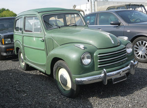 1953 Fiat Topolino Giardiniera For Sale by Auction