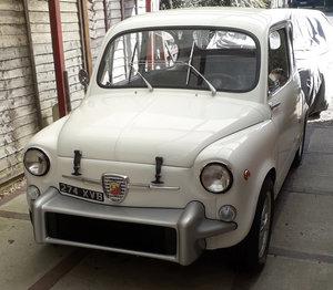 1962 Fiat Abarth 850 TC Tribute