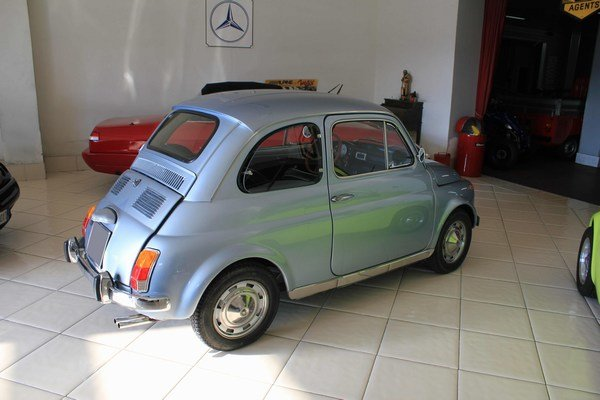 1971 Fiat 500 My Car Francis Lombardi with Roof close For Sale (picture 3 of 6)