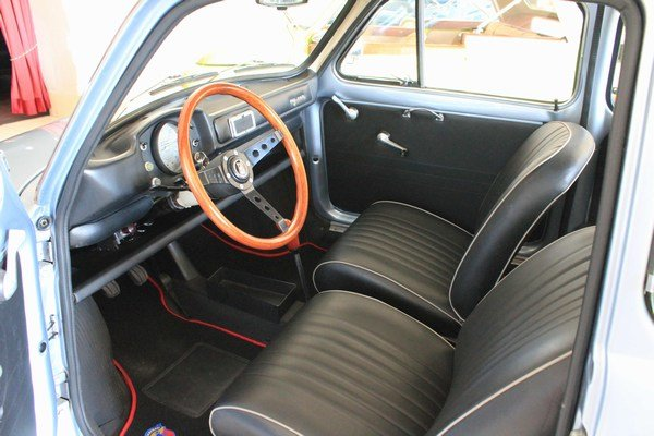 1971 Fiat 500 My Car Francis Lombardi with Roof close For Sale (picture 4 of 6)