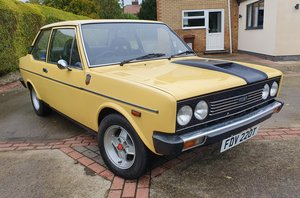 1977 Fiat 131 1600 Rally with upgrades, 1800 cc.
