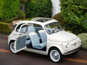 Fiat 500D Trasformabile 1963 / LHD Italian - Exceptional!