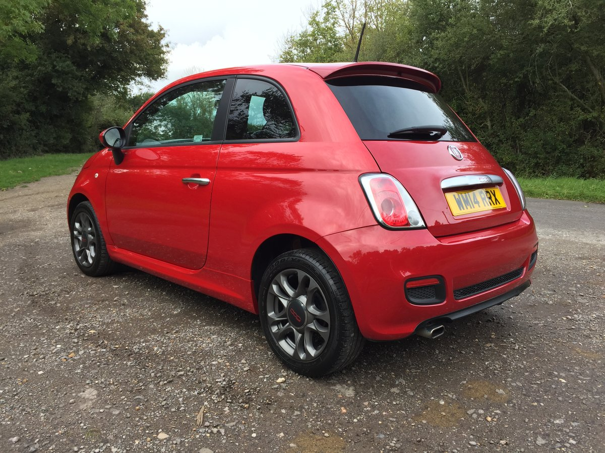 2014 Fiat 500 1.2 S 3dr Excellent condition SOLD (picture 2 of 6)