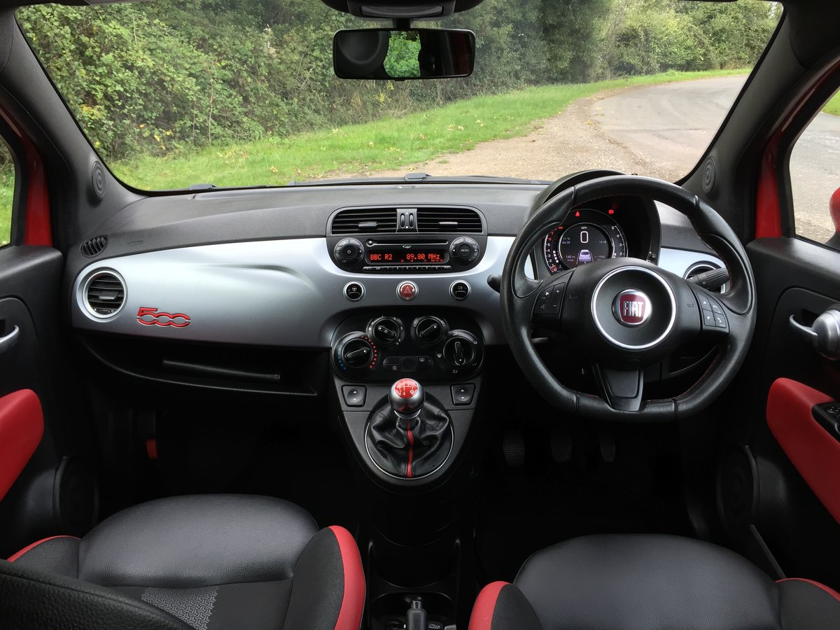 2014 Fiat 500 1.2 S 3dr Excellent condition SOLD (picture 3 of 6)