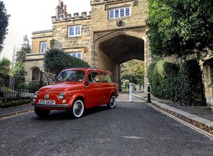1976 Fiat 500 Giardiniera UK Registered LHD Classic