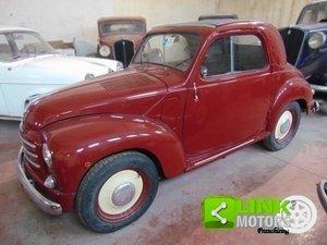 1952 Fiat Topolino 500 C, conservata, funzionante con libretto o