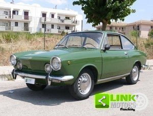 1969 Fiat 850 Sport Coupe Targa Oro ASI