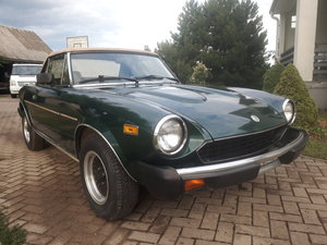 1980 Fiat Spider from California