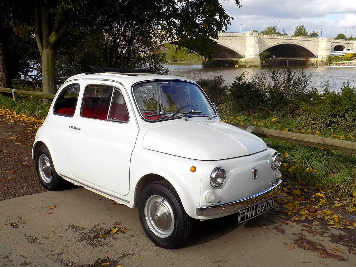 1972 FIAT 500L - LHD - RESTORED For Sale (picture 1 of 6)