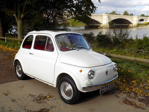 1972 FIAT 500L - LHD - RESTORED For Sale
