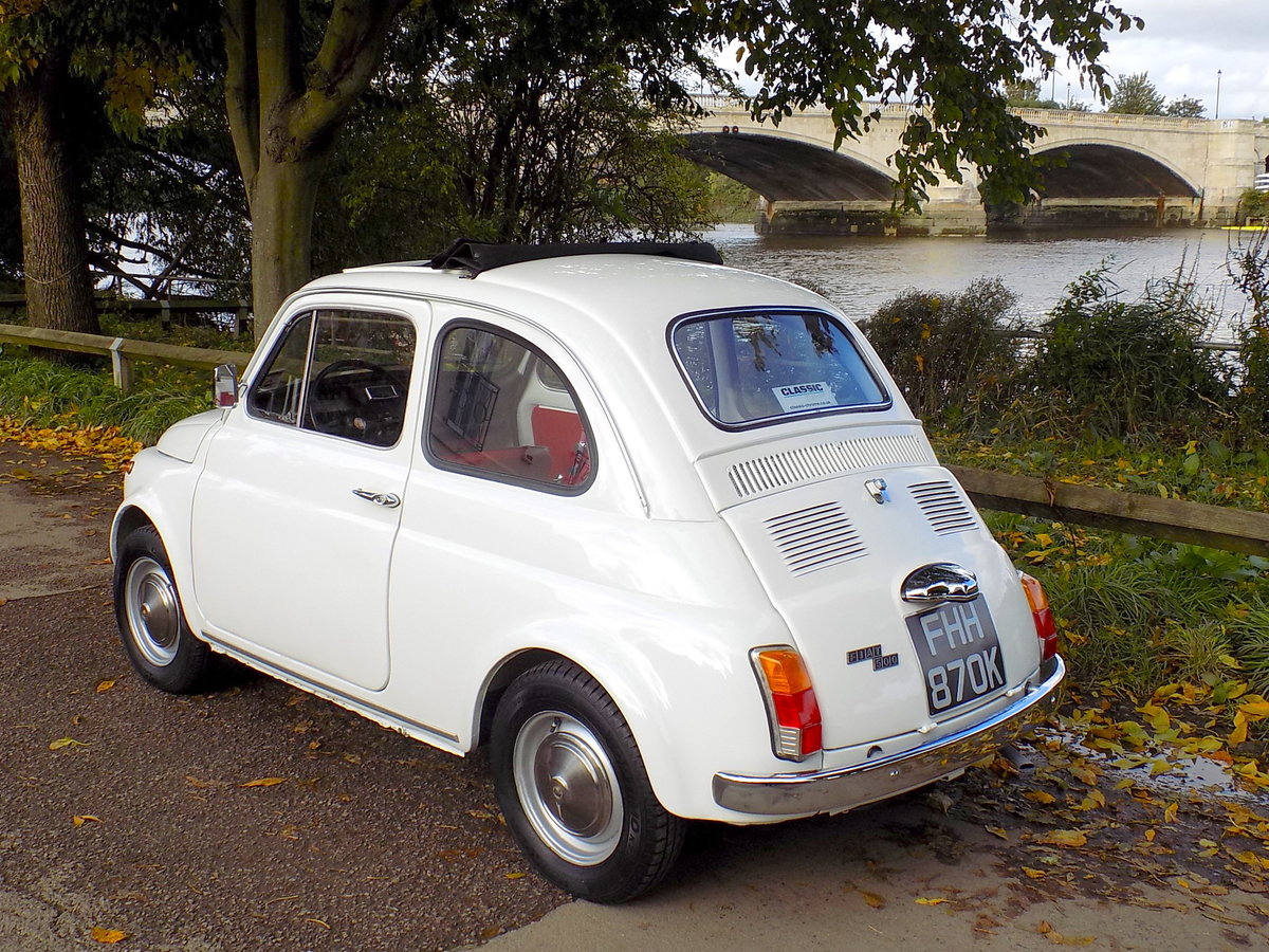 1972 FIAT 500L - LHD - RESTORED For Sale (picture 2 of 6)
