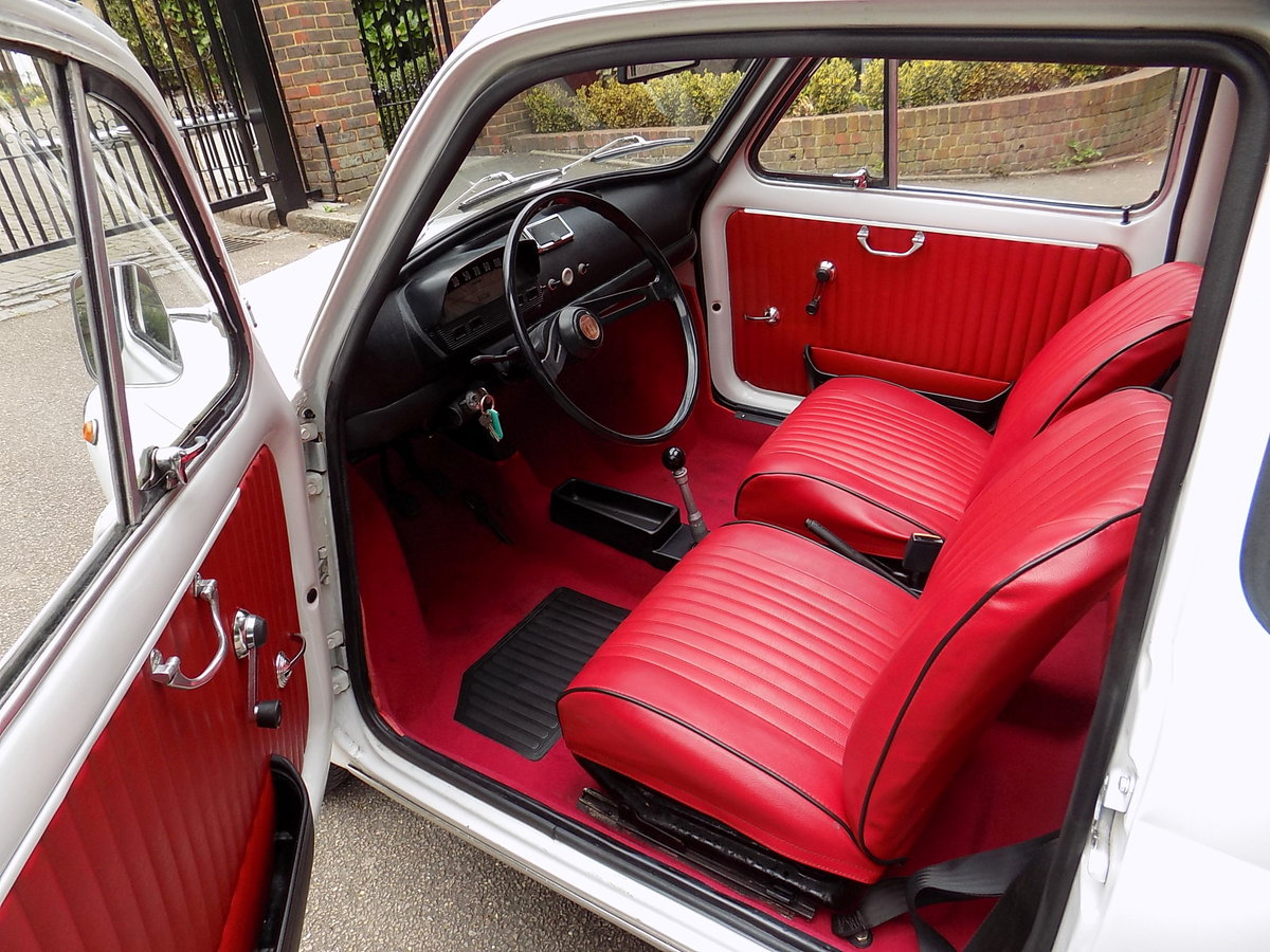 1972 FIAT 500L - LHD - RESTORED For Sale (picture 3 of 6)