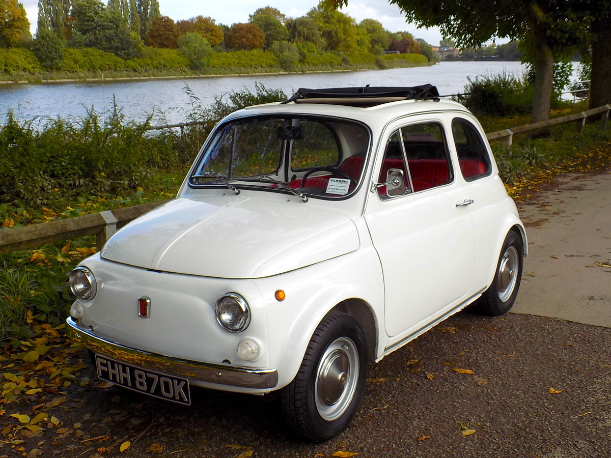 1972 FIAT 500L - LHD - RESTORED For Sale (picture 6 of 6)
