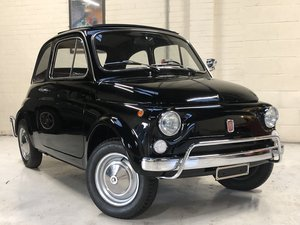 1970 FIAT 500 500L - FULLY RESTORED - BEST AVAILABLE, EXPORT SOLD