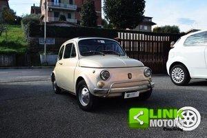 1970 Fiat 500 L restaurata parzialmente ISCRIZIONE ASI