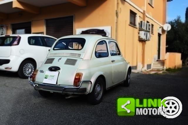 1970 Fiat 500 L restaurata parzialmente ISCRIZIONE ASI For Sale (picture 3 of 6)
