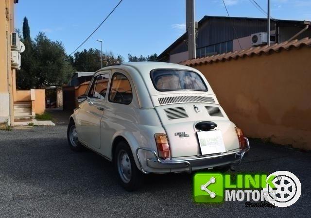 1970 Fiat 500 L restaurata parzialmente ISCRIZIONE ASI For Sale (picture 4 of 6)