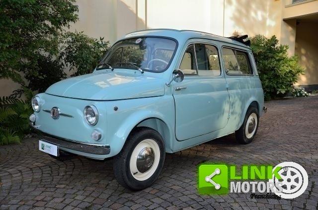 FIAT 500 GIARDINIERA, GENNAIO 1966, UNICA, CON COMPONENTI T For Sale (picture 1 of 6)