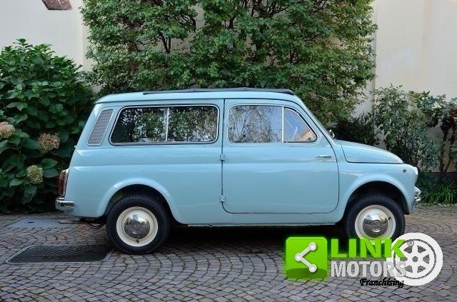 FIAT 500 GIARDINIERA, GENNAIO 1966, UNICA, CON COMPONENTI T For Sale (picture 5 of 6)