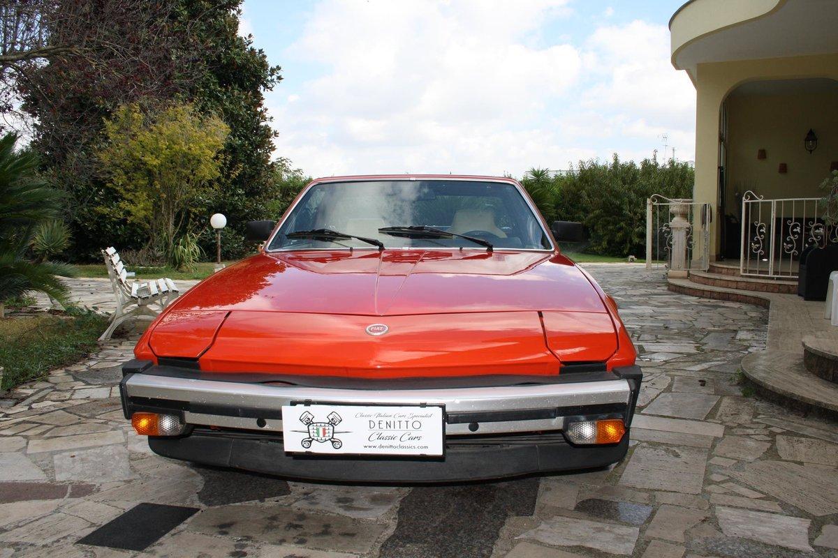 1982 Fiat X1/9 Bertone Orange For Sale (picture 1 of 10)