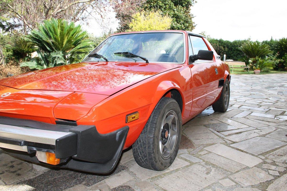 1982 Fiat X1/9 Bertone Orange For Sale (picture 2 of 10)