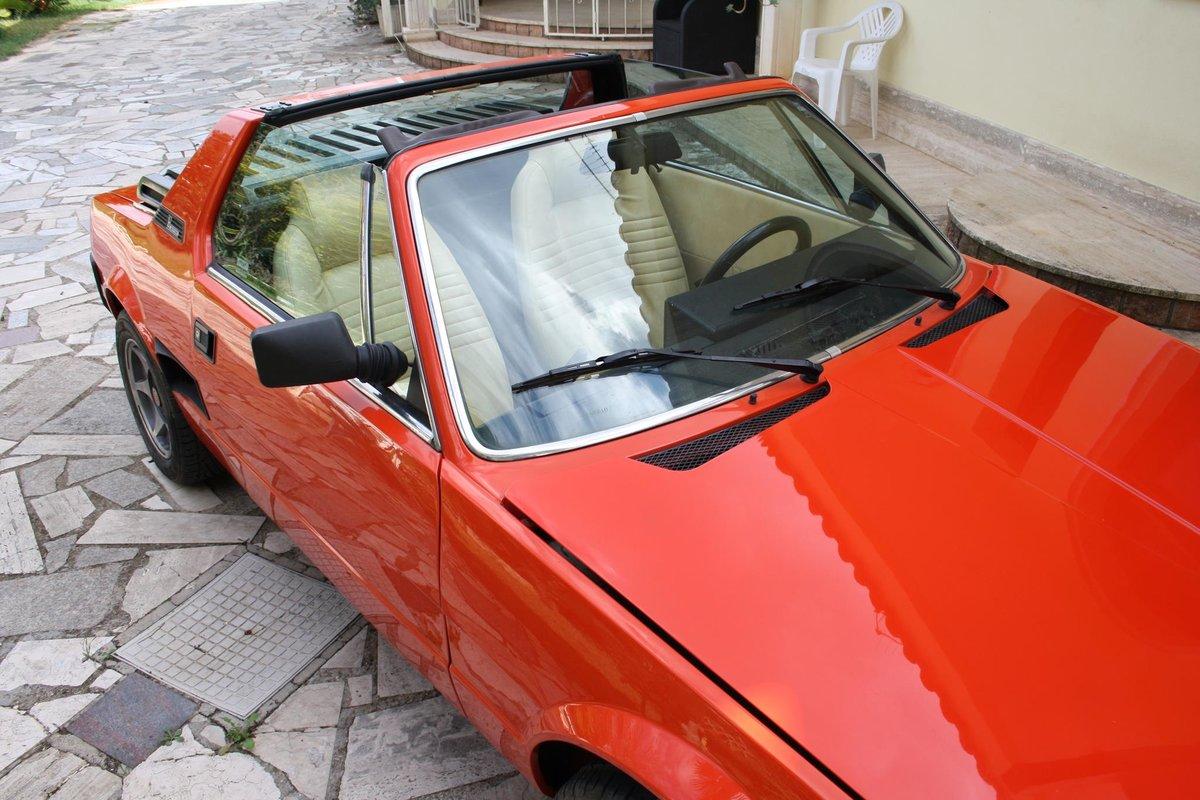 1982 Fiat X1/9 Bertone Orange For Sale (picture 7 of 10)