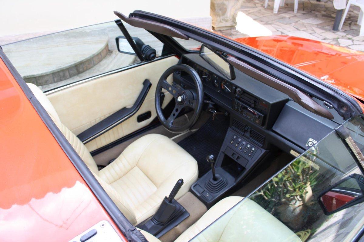 1982 Fiat X1/9 Bertone Orange For Sale (picture 8 of 10)