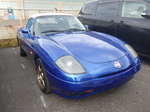 2001 FIAT BARCHETTA 1.7 LHD CONVERTIBLE FRESH IMPORT RARE COLOUR For Sale