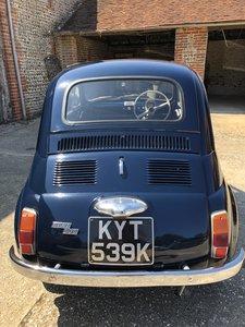 1972 Fiat 500 Rare Original RHD