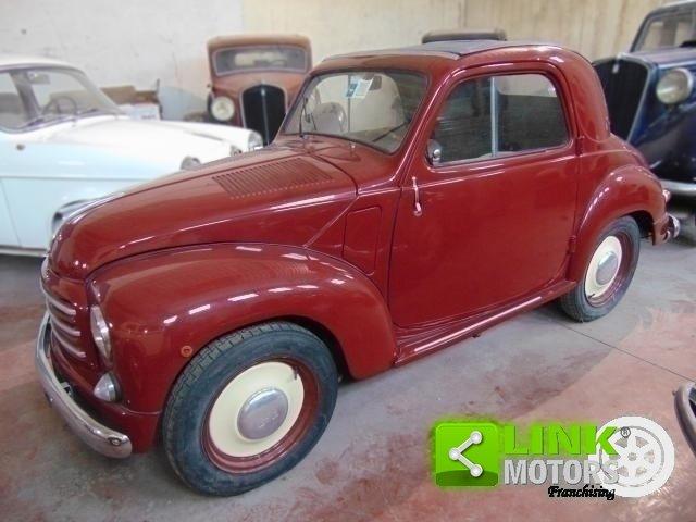 1952 Fiat Topolino 500 C, conservata, funzionante con libretto o For Sale (picture 1 of 6)