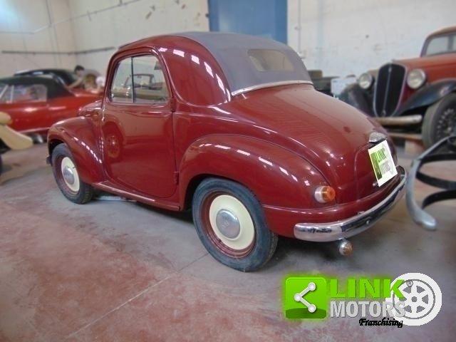 1952 Fiat Topolino 500 C, conservata, funzionante con libretto o For Sale (picture 2 of 6)