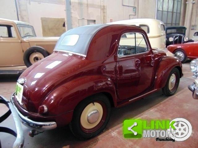 1952 Fiat Topolino 500 C, conservata, funzionante con libretto o For Sale (picture 3 of 6)