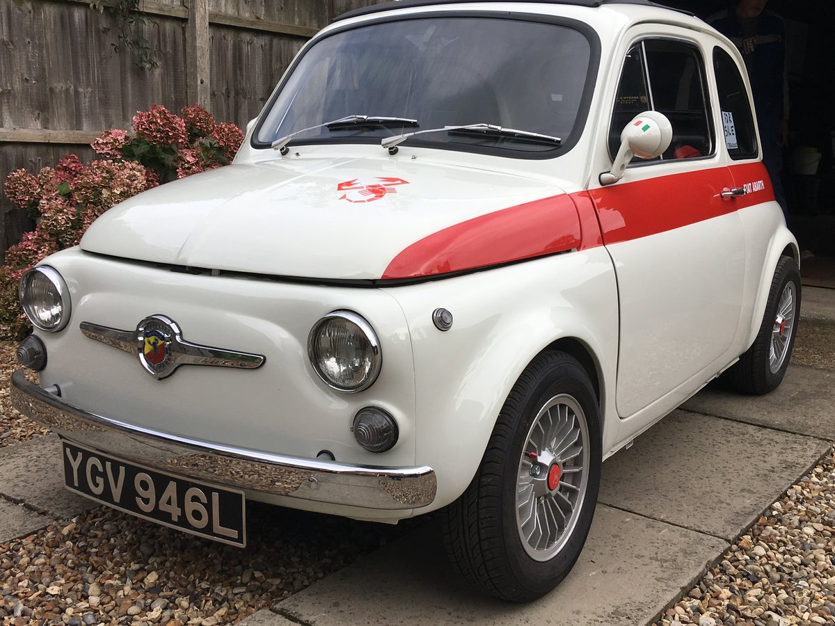 1972 Fiat 500 abarth replica For Sale (picture 1 of 6)