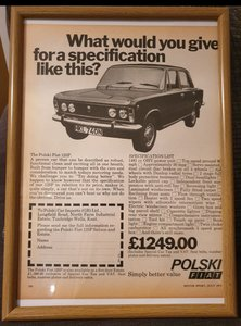Picture of 1975 Original Polski Fiat Advert