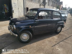 "Picture of 1956 rare fiat 600""special canta"" For Sale"