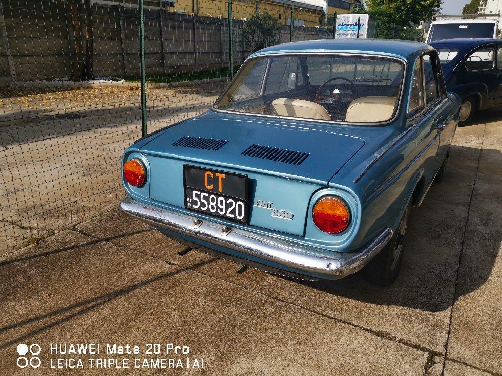 1967 RARE FIAT 850 VIGNALE For Sale (picture 6 of 6)