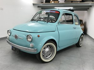 1966 Fiat 500 turqoise For Sale