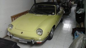1969 Fiat 850 spider For Sale