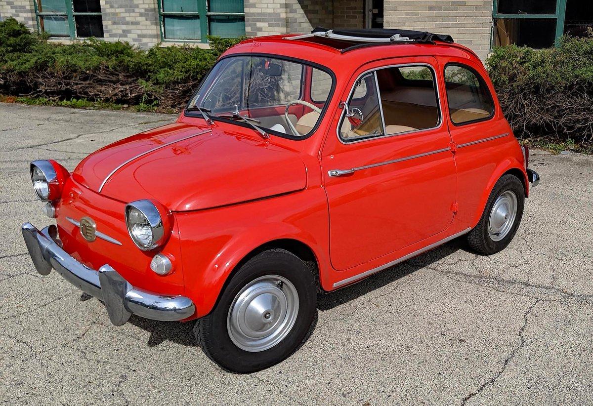 1960 Fiat 500 Nuova America For Sale (picture 1 of 6)
