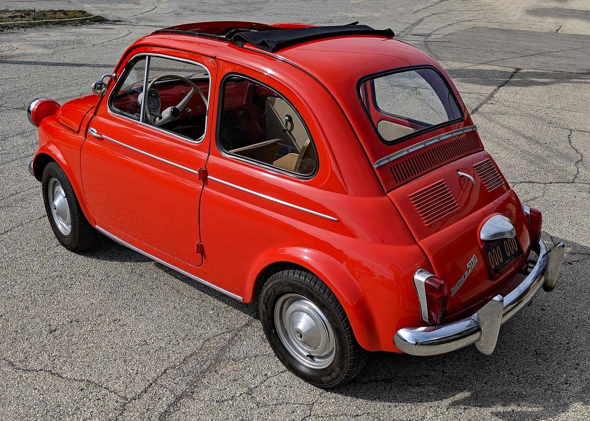 1960 Fiat 500 Nuova America For Sale (picture 2 of 6)