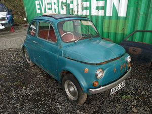 1971 Fiat 500 RHD For Sale