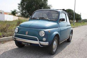 1971 Fiat 500 L Blue - Never restored