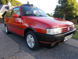 1991 Fiat Uno i.e Turbo MK2 1 Previous Owner class