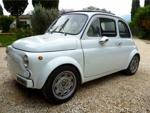 Fiat 500 racing low mileage